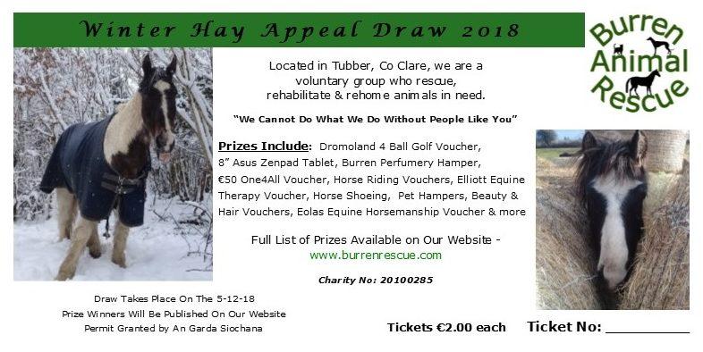 winter hay draw ticket 2018